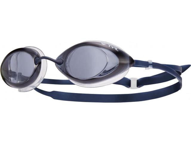 TYR Tracer Racing duikbrillen grijs/blauw